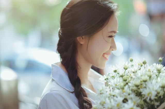 心にゆとりのある人は素敵です。素敵な女性に変われます。